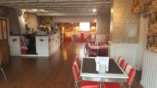 Carnoustie, UK: Happy Days Diner and Play Centre