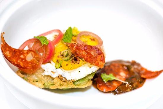 Bedford, แคนาดา: Avocado and Egg