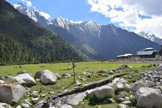Sangla, Индия: View from valley