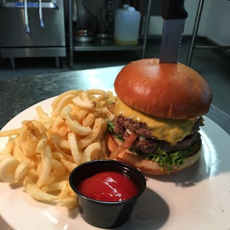 Cafe 33: Double Down Burger