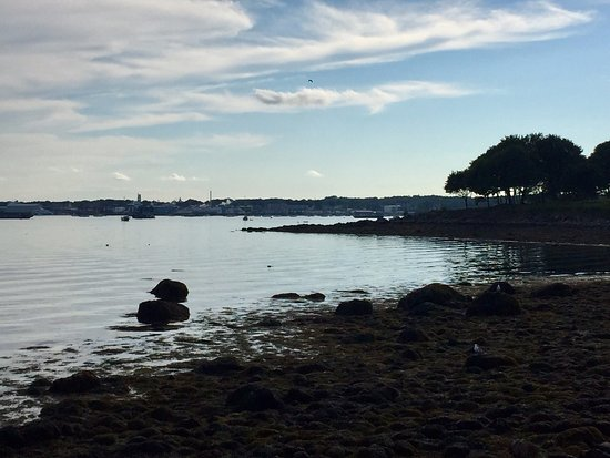 Rockland, ME: view from shore