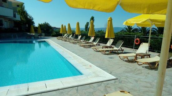 Eftalou, Greece: upper pool