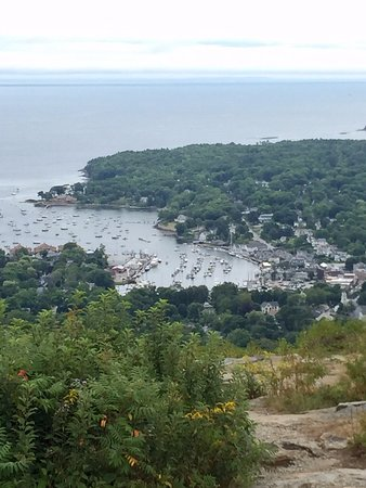 Mount Battie: view