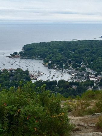 Mount Battie: harbor