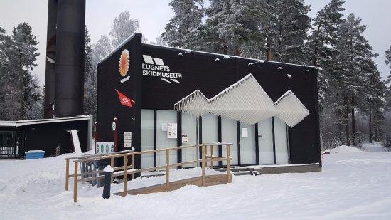 Falun, Suécia: Lugnets skidmuseum - litet men naggande gott