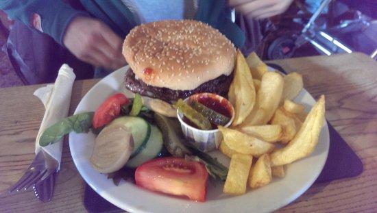 Bilsborrow, UK: Burger