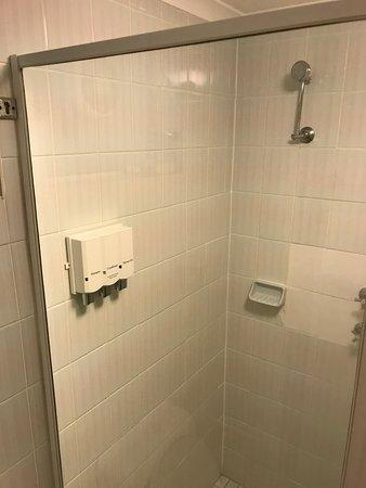 The Entrance, Australia: 站立花灑浴位置, 不提供獨立包裝沖涼液。