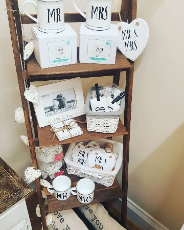 Barnstaple, UK: Cute wedding gifts