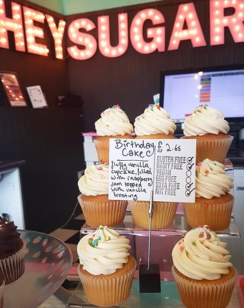 Remarkable Birthday Cake Cupcakes Picture Of Sugar Daddys Bakery Personalised Birthday Cards Cominlily Jamesorg