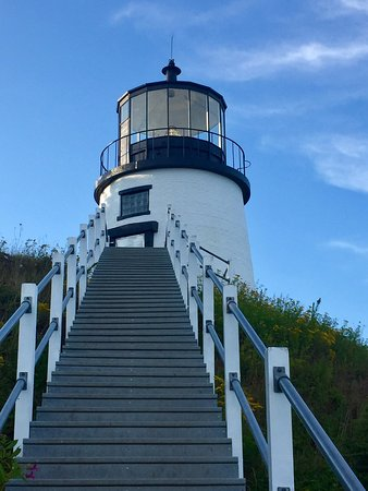 Owls Head, ME: stairs