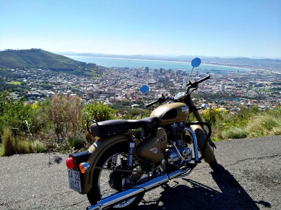 ‪RETZA Classic Enfield Motorcycle Tours & Rentals South Africa‬