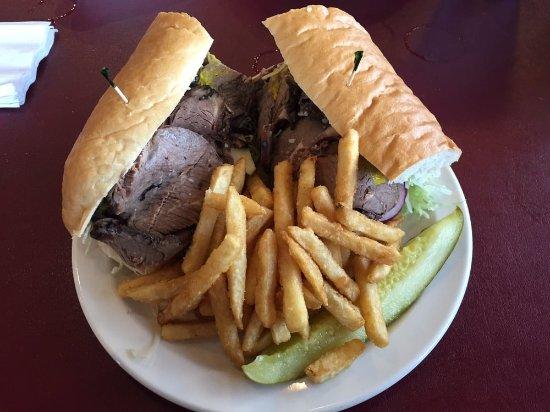 Hamilton, NY: Roast Beef Sub