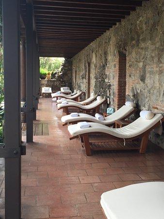 Hotel Museo Spa Casa Santo Domingo: lounging area