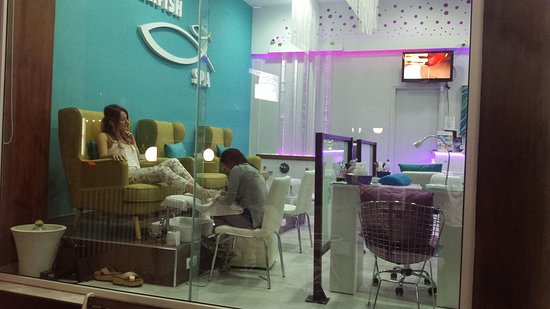 Agia Marina, Grécia: Pedicure treatment for happy feet :)