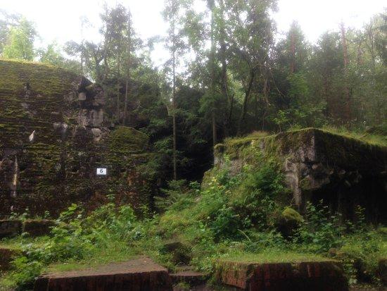 Gierloz, Polonia: ruiny