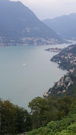 Brunate, Italia: PANORAMA LAGO DI COMO