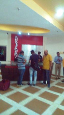 Ginger New Delhi: Hotel Reception