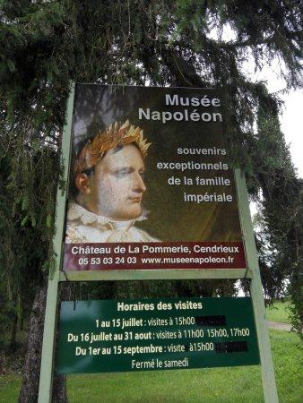 Cendrieux, France: Panneau d'informations