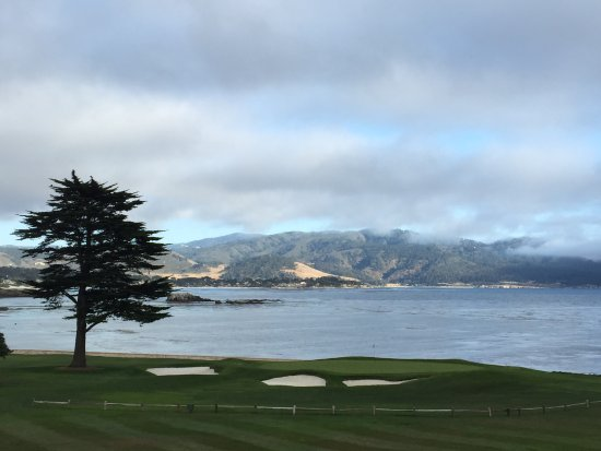 Pebble Beach, CA: The view from The Bench