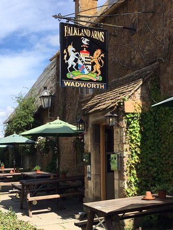 Chipping Norton, UK: Outside. And the Falkland Islands were named after a local Lord