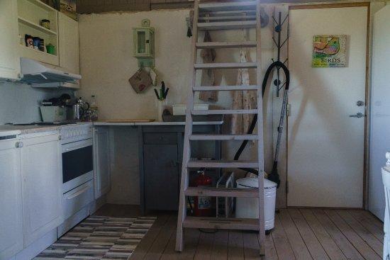 Viva Lofoten: the kitchen of the cottage