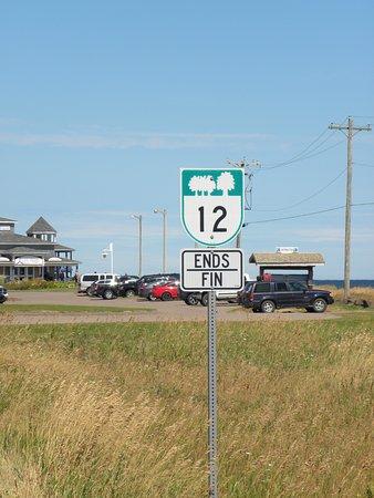 Tignish, Canada: la fin de la route 12