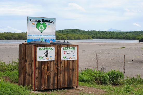 Leon, Nicaragua: We are big supporters of Salinas Bonitas. A project in garbage and recycling collection.