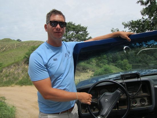 Saugatuck, MI: Joey Our Driver