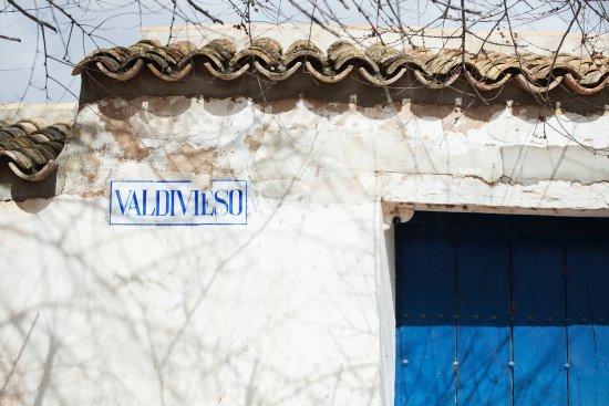 Campo de Criptana, Spain: Foto original de la protada de nuestra queseria