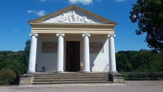 Roman House: Rümisches Haus von vorn