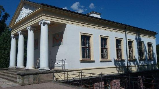 Roman House: Römisches Haus von der Seite