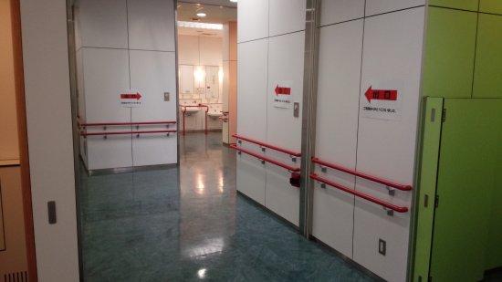 Chiba, Japan: 清掃が行き届いたトイレ