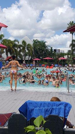 Порт-Сент-Люси, Флорида: Aqua Gym with Rachel... a great way to exercise...