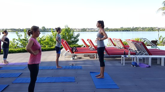 Port Saint Lucie, FL: Yoga with Emily -- a can't miss experience!