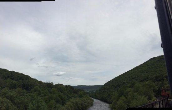 Jim Thorpe, PA: More beautiful scenery.