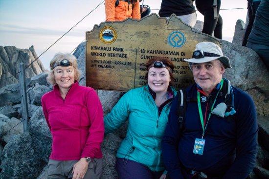 Эмблсайд, UK: summit Kinabalu