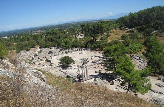Saint-Remy-de-Provence, France: Vue du belvédère.