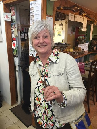 New Quay, Irlandia: Trudy Van der Elsen