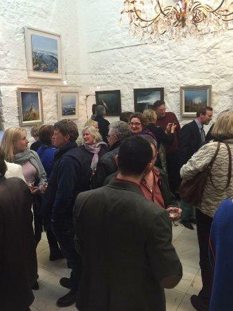 New Quay, Irlandia: Exhibition Opening evening