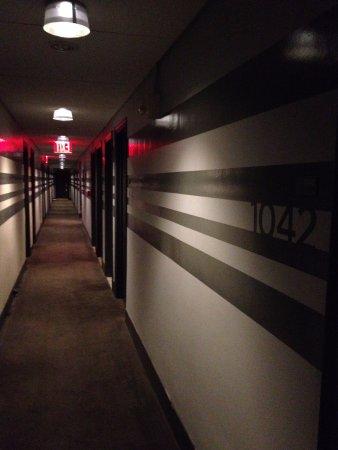 Paramount Hotel New York: Acesso ao quarto ja traz tranquilidade
