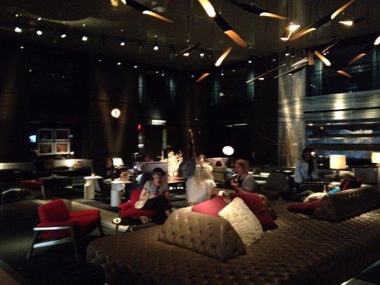 Paramount Hotel New York: Pense num num hall!!!