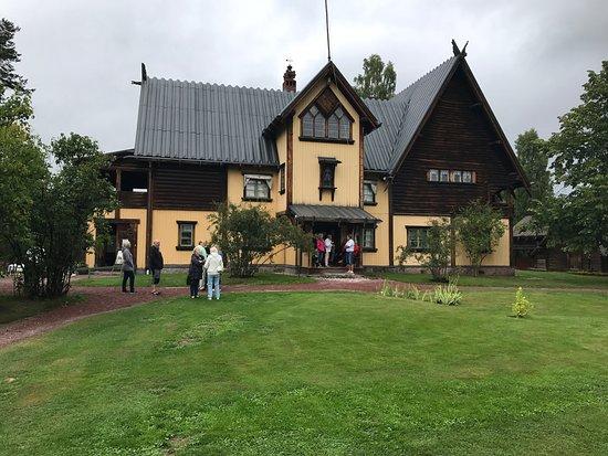 Mora, Σουηδία: Zorngården & guiden vi fick va helt underbar att se och höra om, även jag som inte ser mig som e