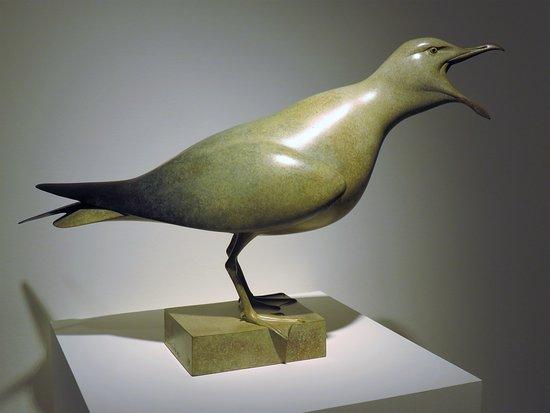 Lymington, UK: St Barbe's Museum - Sculpture 1