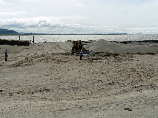 Skamokawa, WA: Reshaping the Sand Dunes