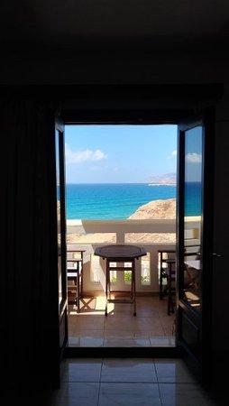 Arkasa Bay Hotel: vista dalla camera da letto