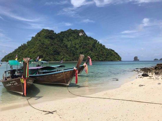 Ao Nang Phu Pi Maan Resort & Spa: the 4-island tour arranged by the hotel
