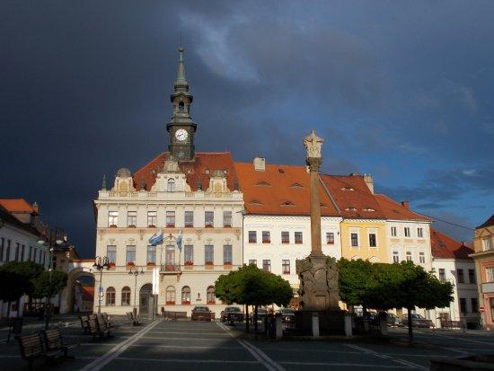 Ceska Lipa, República Checa: Radnice (namesti T.G.Masaryka)