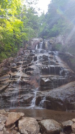 Twin Mountain, NH: Rapelling