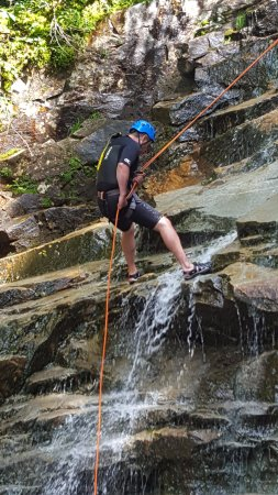 Twin Mountain, NH : Rapelling