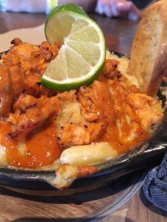 Lake Delton, WI: Chipotle chicken mac with lime